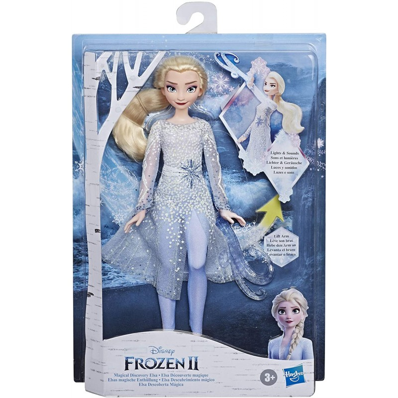 Hasbro Disney Frozen 2 Magical Discovery Έλσα Κούκλα