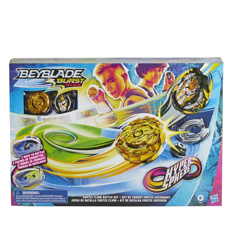 Hasbro Beyblade S4 Hypersphere Vortex Climb Battle Set