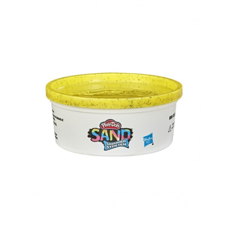 Hasbro Play-Doh Sand Shimmer Stretch Single Can Of Sparkly Yellow Compound Κίτρινο