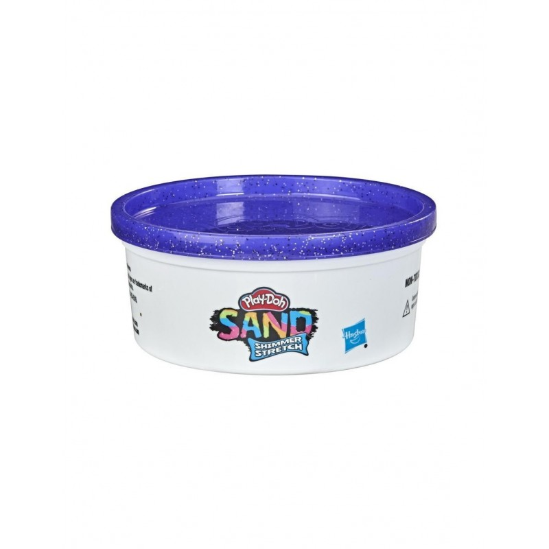 Hasbro Play-Doh Sand Shimmer Stretch Single Can Of Sparkly Purple Compound Μωβ