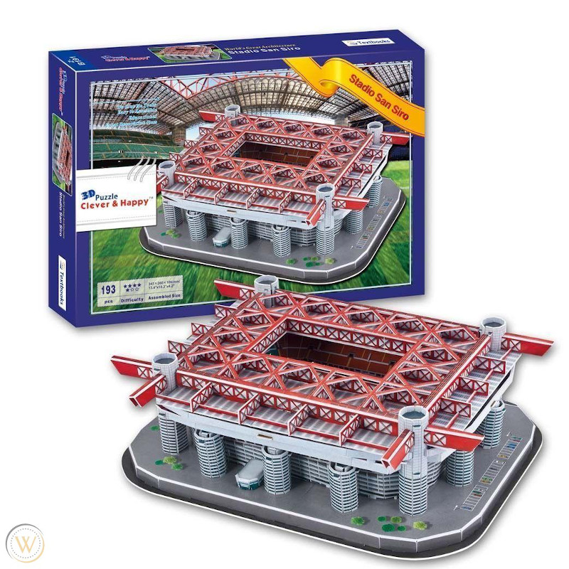 3D Puzzle Clever & HappyLand - San Siro