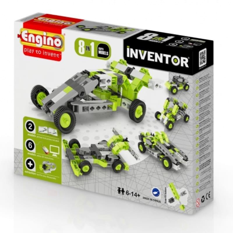 Engino - Inventor 8 σε 1 Αυτοκίνητα