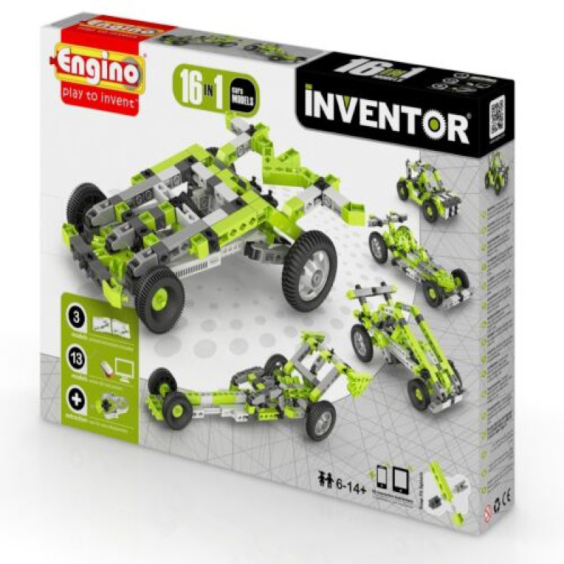Engino - Inventor 16 in 1 Models Cars