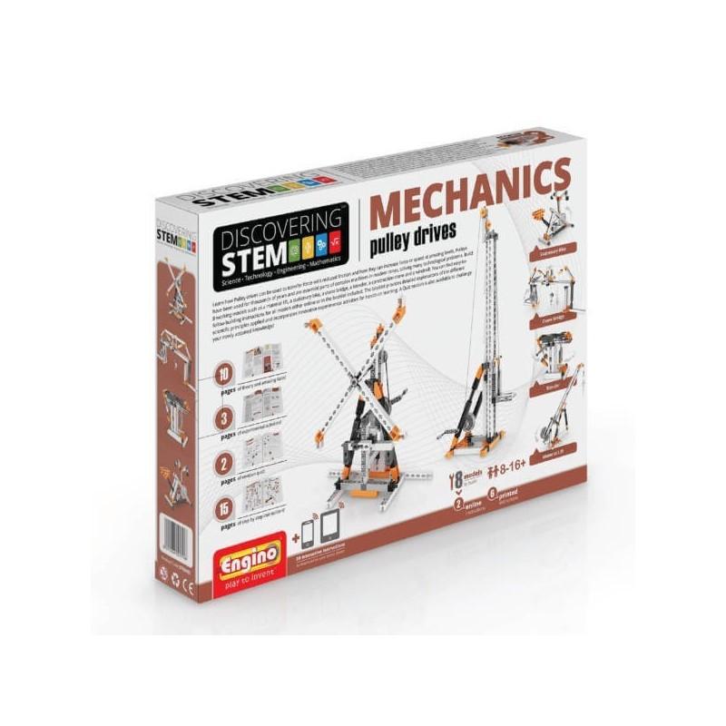 Engino - Discovering STEM Mechanics Τροχαλιες