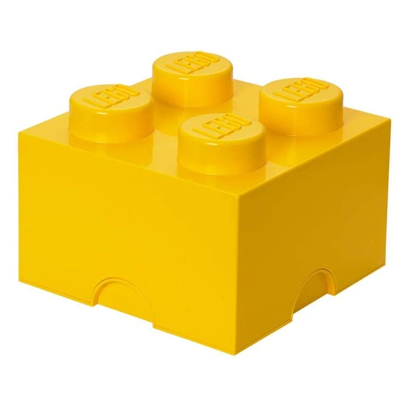 Lego Lifestyle Storage Brick 4 Yellow