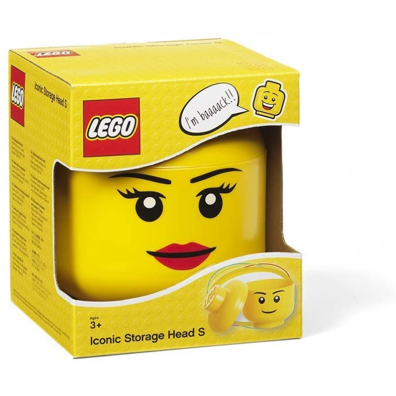 LEGO Lifestyle  Storage Head Small Girl - Κουτί Αποθήκευσης