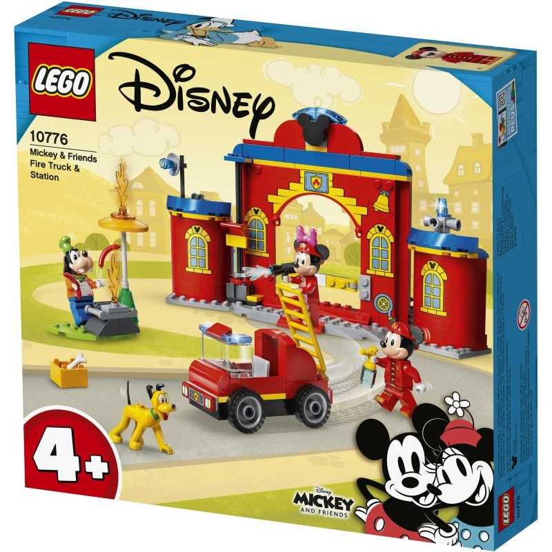 LEGO Disney Mickey And Friends Fire Truck & Station