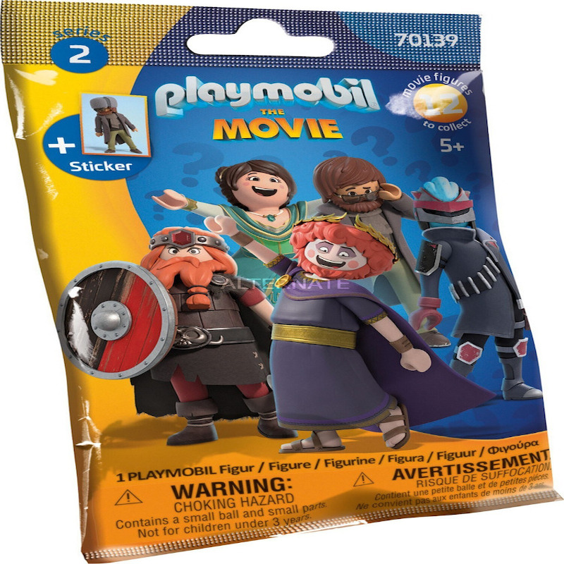 Playmobil Figures Series 12 Movies