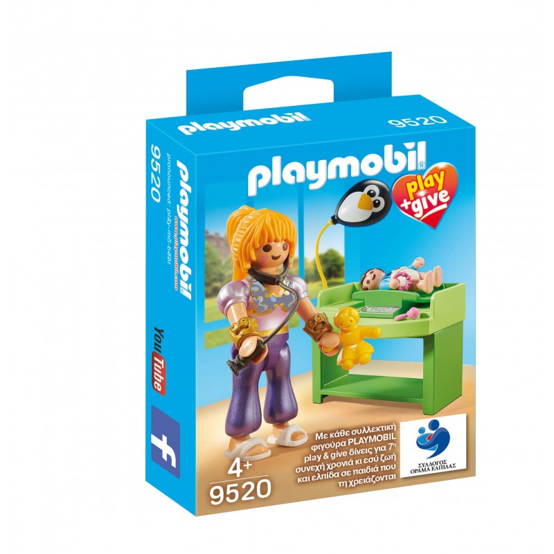 Playmobil Play And Give Μαγική Παιδίατρος